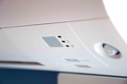 Detailansicht einer Klimaanlage